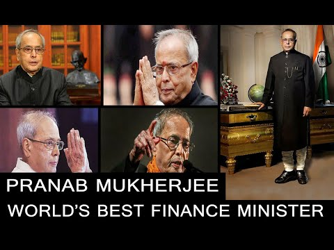 Pranab Mukherjee, World's best Finance Minister | UNB-India