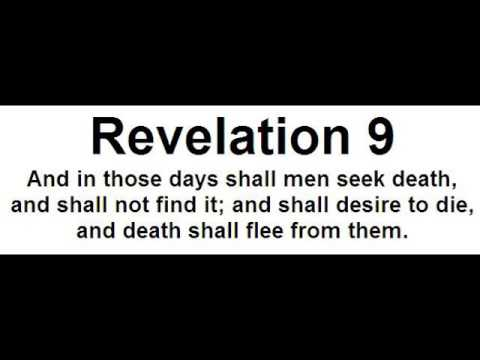 Genial Revelation 9   And In Those Days Shall Men Seek Death And Shall Desire To  Die, And Death Shall Flee