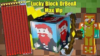 THỬ THÁCH 24H TÌM ĐỒ VIP NHẤT TRONG LUCKY BLOCK DR BENX ** LUCKY BLOCK SIÊU VIP NOOB MỚI TÌM RA