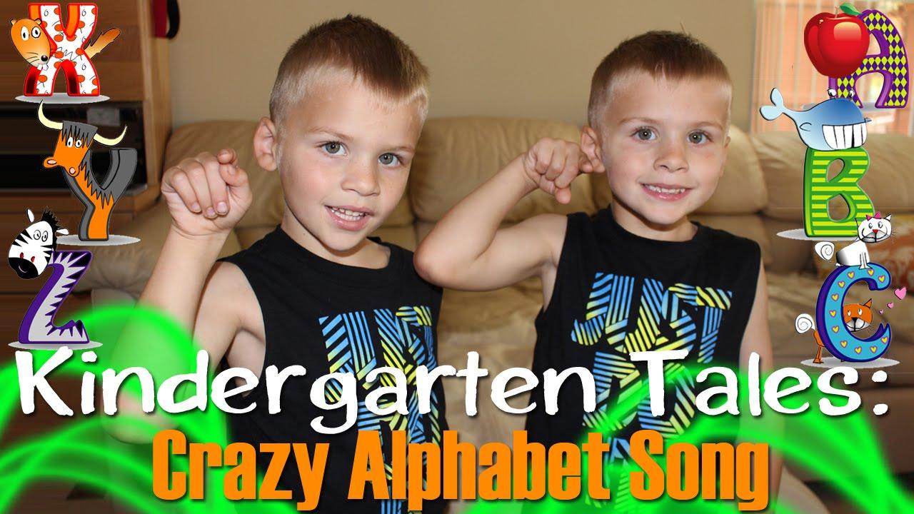 Twins Sing Alphabet Backwards