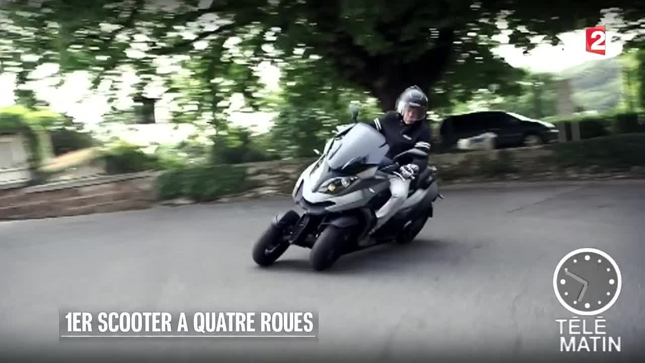 auto premier scooter quatre roues 2015 08 25 youtube. Black Bedroom Furniture Sets. Home Design Ideas