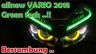 Download proji all new vario 2018 || Green Tech || chudax bikers shop || CBSmoto_Tv