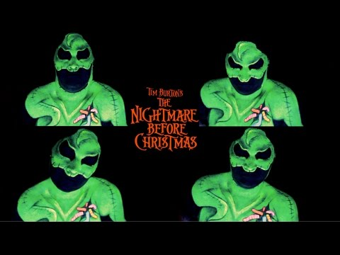 mr oogie boogie man nightmare before christmas halloween makeupmr oogie boogie man nightmare before christmas halloween makeup tutorial