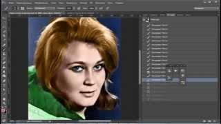 Как раскрасить черно белую фотографию(http://photoshopsunduchok.ru/ В уроке показано как можно очень просто и быстро раскрасить чёрно-белую фотографию. http://photo..., 2014-03-25T11:10:32.000Z)