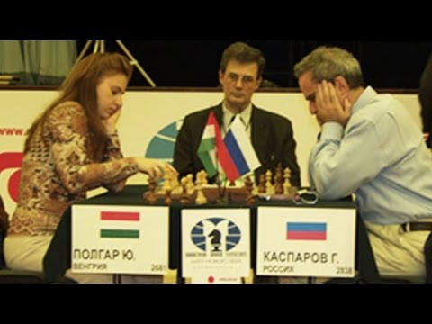 Judit Polgar BEATS 👊 Garry Kasparov - Sensational Game!!