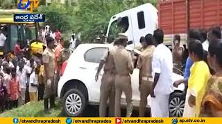 Five dead in a road accident in Tiruvannamalai   Tamil Nadu