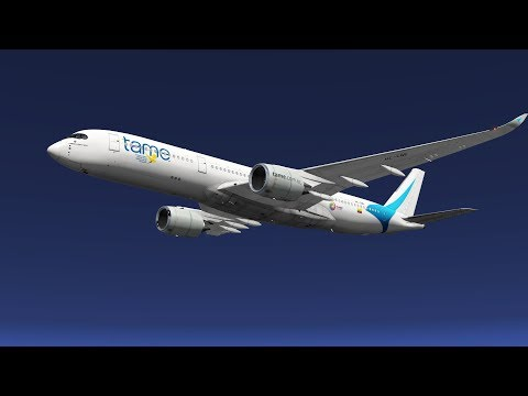 X-Plane11 - IVAO | Special Part of the South Americatour | Lima to Quito - Airbus A350-900 TAME