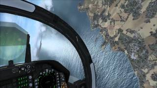 MS Flight Simulator X (Acceleration) - PC Gameplay (Guernsey Airport)