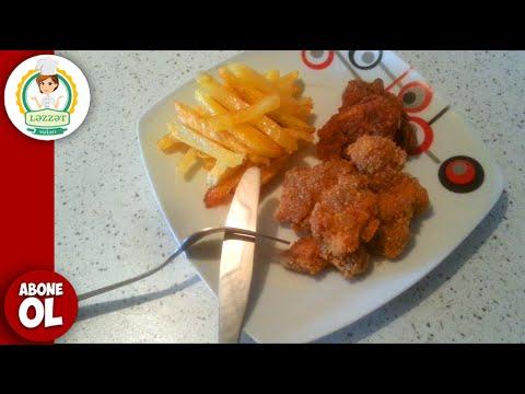 KFC Filesinin Hazirlanmasi - Çitir Tavuk  Nasıl Yapılır