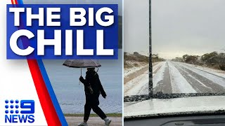 Icy Winds, Rain, Hail To Smash Australia's South-east | Nine News Australia