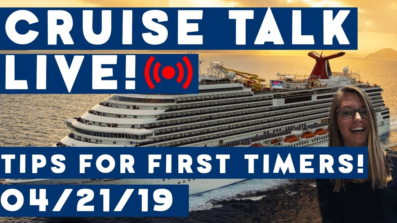 🔴LIVE!   CRUISE TALK EASTER SUNDAY!   Tips for First Time Cruisers