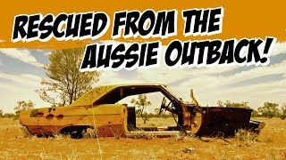 Bullet-ridden Valiant Pacer saved from the Aussie desert