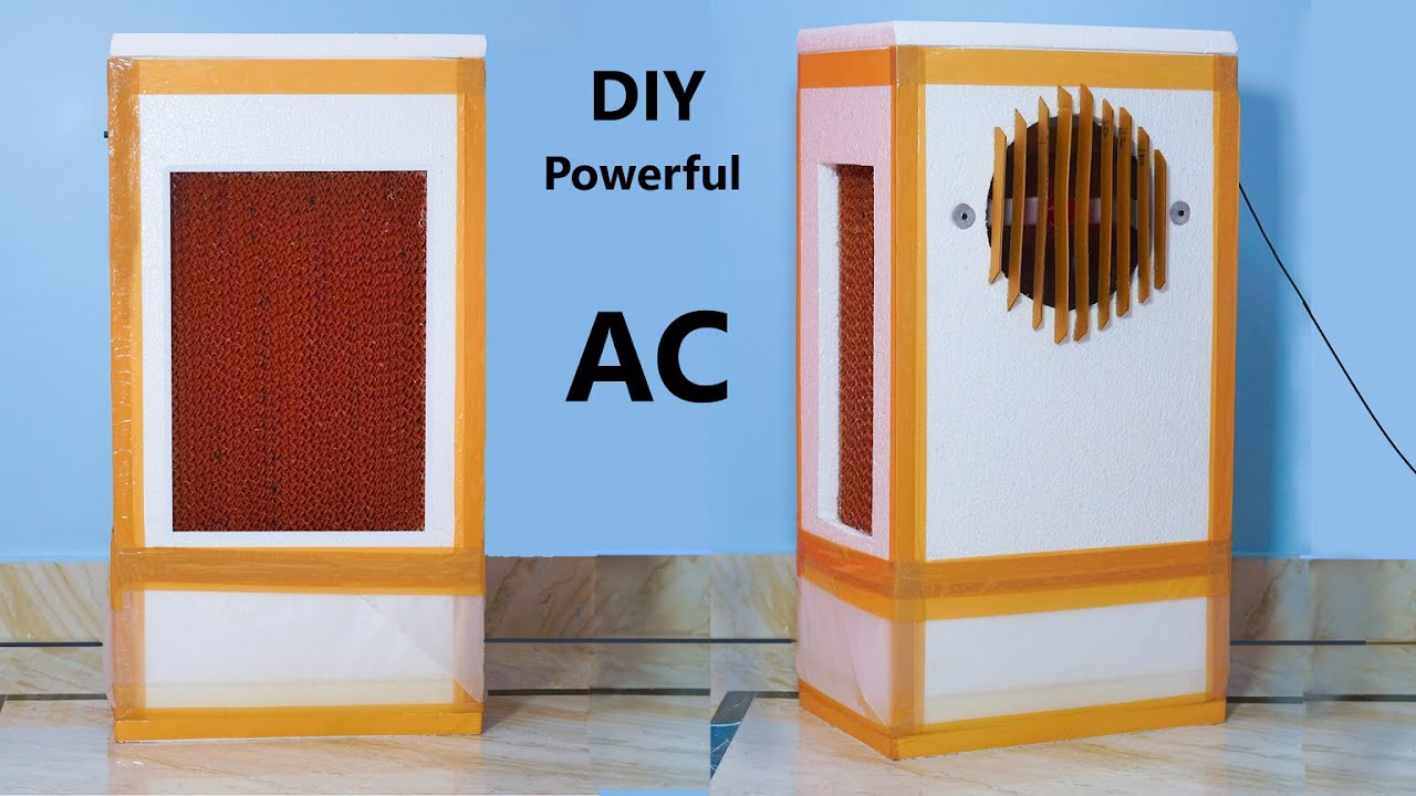 How to make  Air Cooler at home - Cool like Air Conditioner