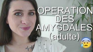 Mon (HORRIBLE) opération des amygdales à l'age adulte....