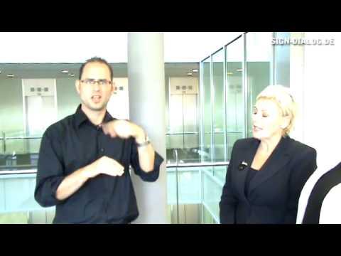Sign-Dialog: Interview mit Marianne Wegmann (Leiterin der WDR Videotext)