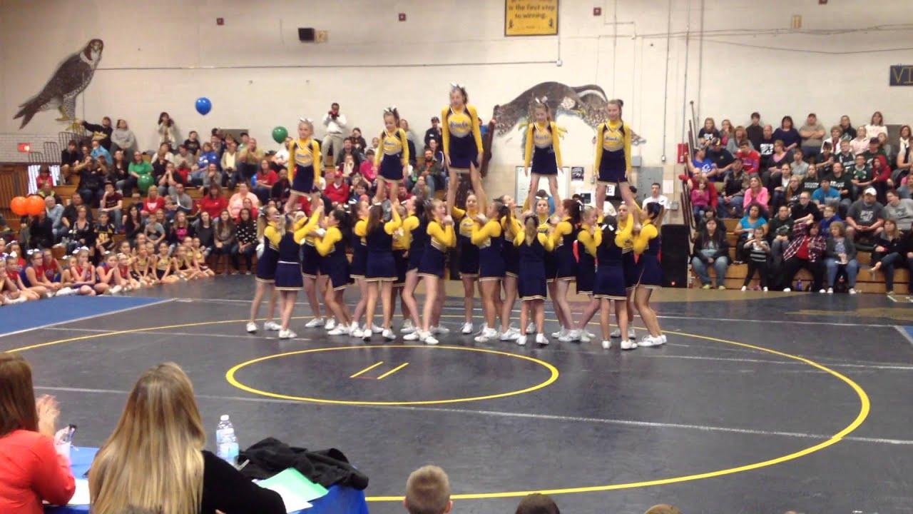 Bemus point midget cheerleading