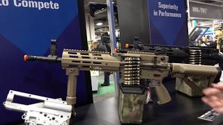 G&G Shot Show 2018 Airsoft Review - LMG ARP9 Black Orchid