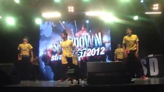 Walawei Showdown Streetfest 2012