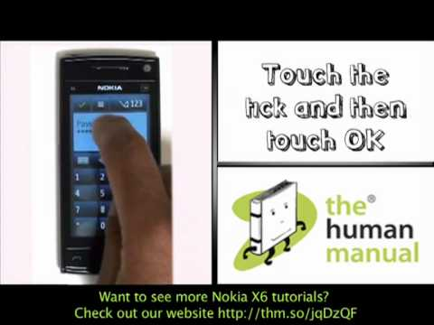 email setup nokia x6 the human manual youtube rh youtube com