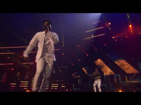 Korede Bello and C4 Pedro perform at MTV Africa Music Awards