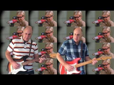 Joe 90 Theme - Guitar Instrumental Cover - Neville Worthington