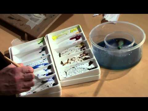 PAINTING WITH SKILL – LESSON 20 – COMPLETE LANDSCAPE, PART 2