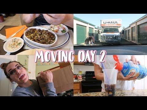 MOVING VLOG #2   DITL OF A STAY AT HOME MOM WITH A BABY 2018