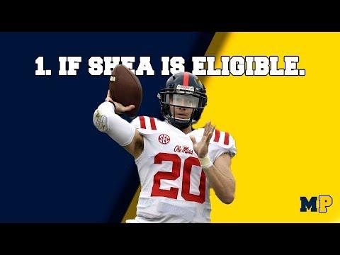 Michigan Podcast #033   8 Offseason 'Ifs' For Michigan Football