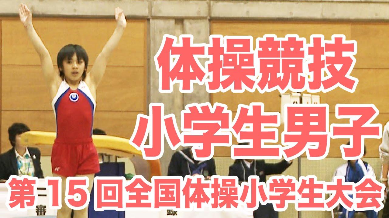 [体操]第15回全国体操小学生大会 体操競技・男子ダイジェスト|MOVE ONLINE