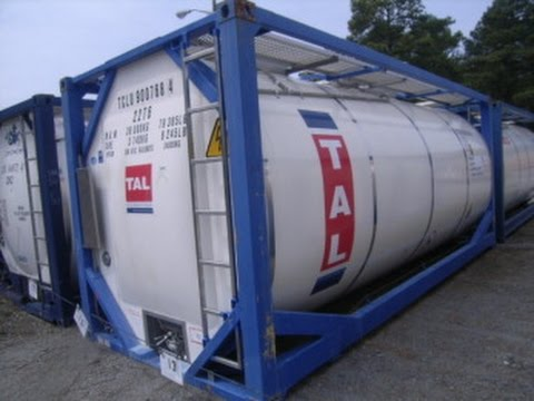 Nantong CIMC Tank Equipment Co 20 FT Inter-Modal chemical transport container on GovLiquidation.com