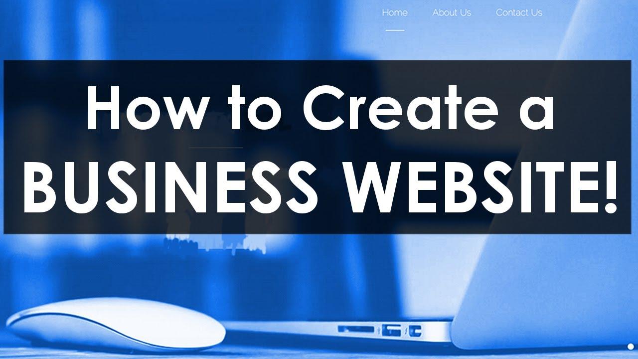 website business create simple easy