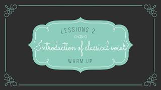 Lesson 2 - Indian Classical Vocal Music for Beginners (Vocal Warmup)