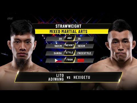 Lito Adiwang vs. Hexigetu   ONE Championship Full Fight
