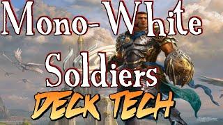 Mtg Deck Tech: Mono-White Soldiers in Magic Origins Standard!