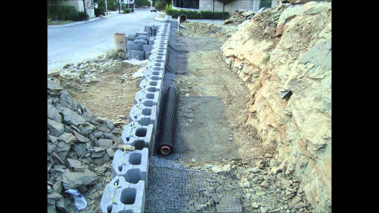 Muros de contenci n ecol gicos youtube - Muros de hormigon ...