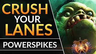 ABUSING PUDGE'S POWERSPIKE - Tips to Dominate in ANY LANE | Dota 2 Pro Laning Guide