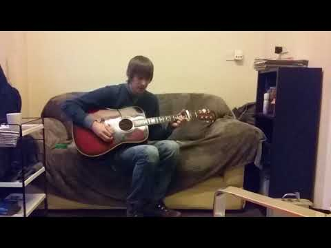Strawberry Fields Forever-The Beatles cover by John Baxter (Acoustic)
