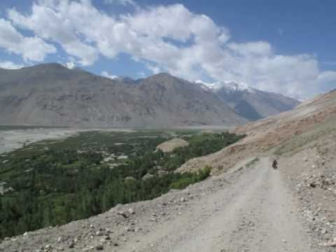 North Asia Bicycle Tour- Tadjikistan (The roof of the world 'Pamir' )