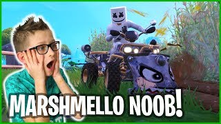 Noob Plays with a Marshmello!!