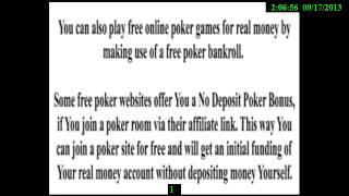 Free Poker Sites