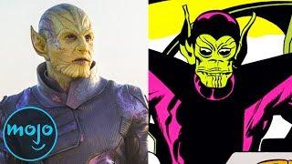 Supervillain Origins: Skrulls