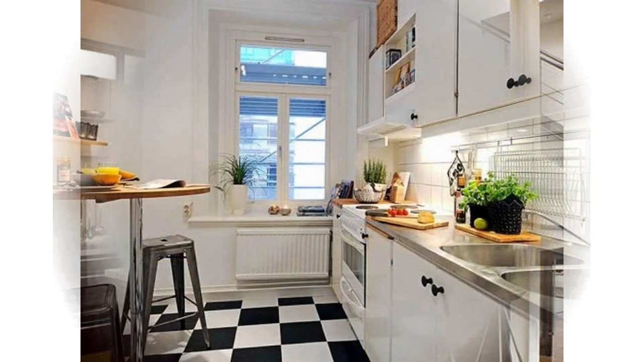Ideas para decorar pequeñas cocinas - YouTube