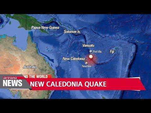 7.3-magnitude earthquake strikes New Caledonia, triggers tsunami warning