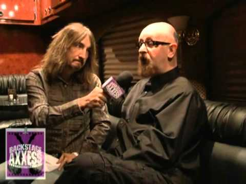 BackstageAxxess interviews Rob Halford of Judas Priest.