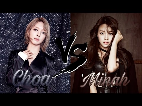 Choa 초아 (AOA) Vs Minah 민아 (Girl's Day) - Vocal Battle A4-G5