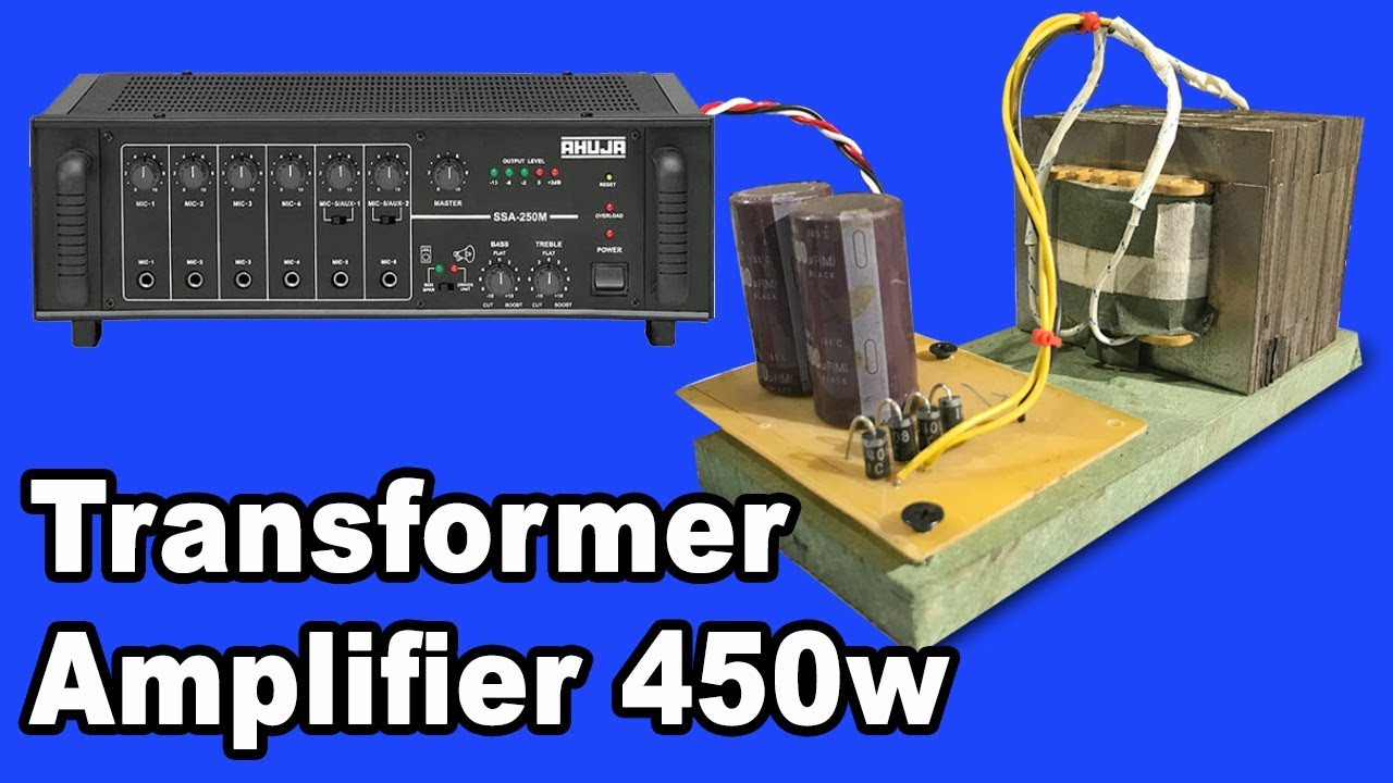 How To Make Transformer 10a For Amplifier 450w   1 Hight