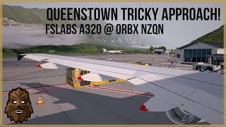 [P3D v4.1] Surrounded by Mountains! | JetStar A320 at Queenstown (NZQN), New Zealand thumbnail