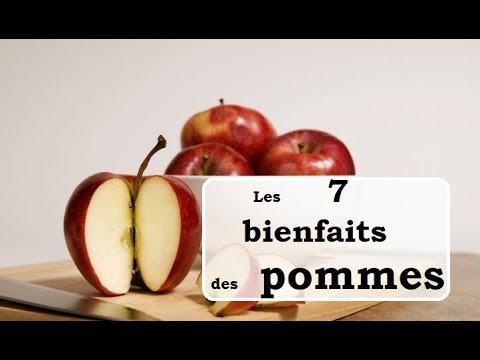 les 7 bienfaits des pommes pour la santé