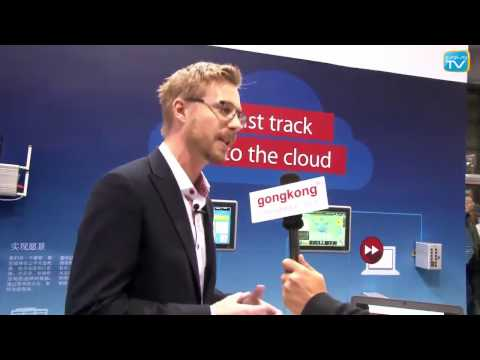 Interview Mikael Hansson, China Industrial Automation Show 2016