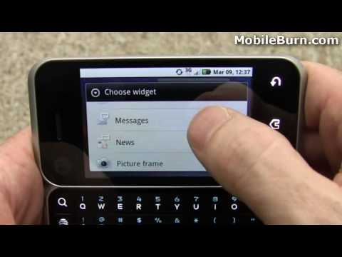 Motorola BACKFLIP for AT&T review - part 1 of 2